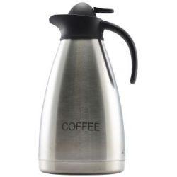 Coffee Inscribed St/St Contemporary Vac. Jug