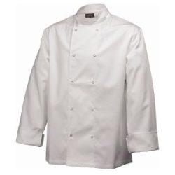 Basic Stud Jacket (Long Sleeve) White M Size