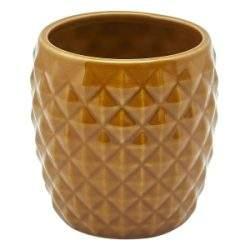 Genware Brown Pineapple Tiki Mug 40cl/14oz