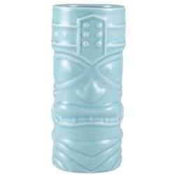 Genware Blue Tiki Mug 40cl/14oz