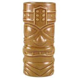 Genware Brown Tiki Mug 40cl/14oz