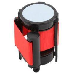 Genware Barrier Post - Retractable Red Belt
