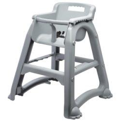 GenWare Grey PP Stackable High Chair