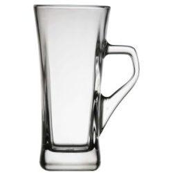 Genware Geo Tall Coffee Glass 33cl / 11.1oz