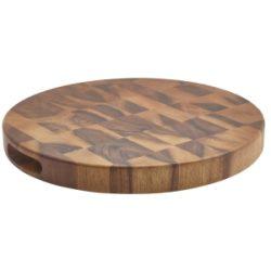 """Acacia Wood End Grain Chopping Board 15 x 1.5"""""""