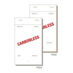 Order Pad 50 Sheet Trip Ncr 165X95mm Box 50