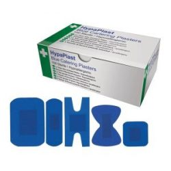 Blue Detectable Plasters Mix 5 Types Box 100