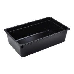1/1 -Polycarbonate GN Pan 150mm Black