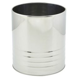 Stainless Steel Can 15.7cm Dia x 17.8cm