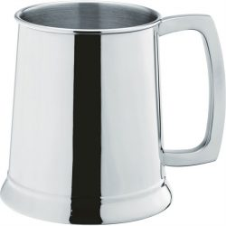 Stainless Steel Handled Tankard 20oz (58cl) CE