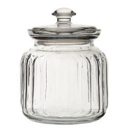 Viva Ribbed Storage Jar 31.5oz (89.5cl)