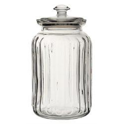 Viva Ribbed Storage Jar 52.75oz (150cl)