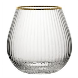 Hayworth Stemless Gin 22oz (65cl) - Gold Rim