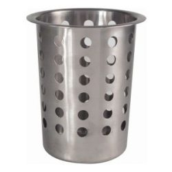 GenWare Stainless Steel Perforated Cutlery Cylinder