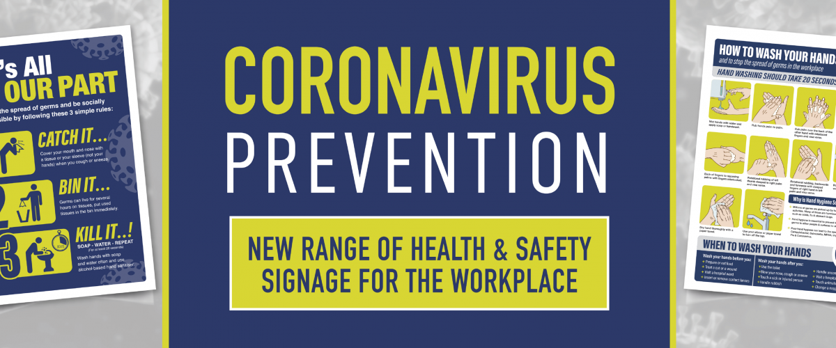 coronavirus signs and posters