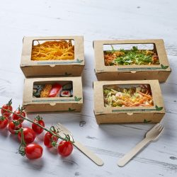 Tuck Top Salad Boxes