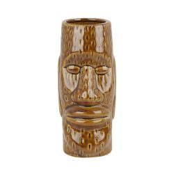 Ceramic Easter Islander Tiki Mug