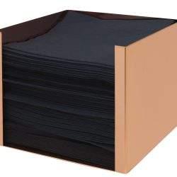 3475 Copper Napkin Holder - IN USE