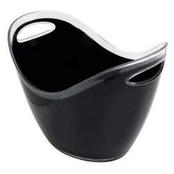 8ltr Black Plastic Wine Cooler 2