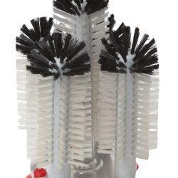 5 Brush Glass Washer - Raised Centre