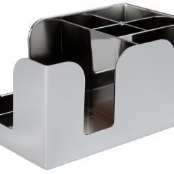 3535CHR Chrome Plated Bar Caddy