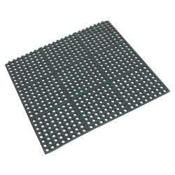 Rubber Interlocking Floor Mat 90x90x1.2cm