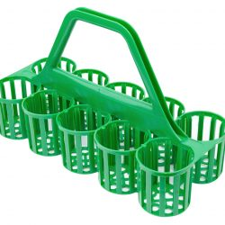 Glass - Bottle Carrier 10 Pockets GREEN