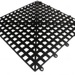 Bar Shelf Tile - BLACK 13 x 13 inch