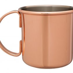 Polished Copper Plated Moscow Mule Mug 500ml