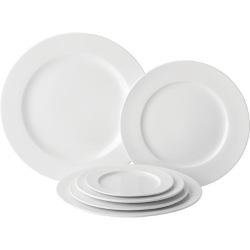 Anton Black Tableware - Winged Plates