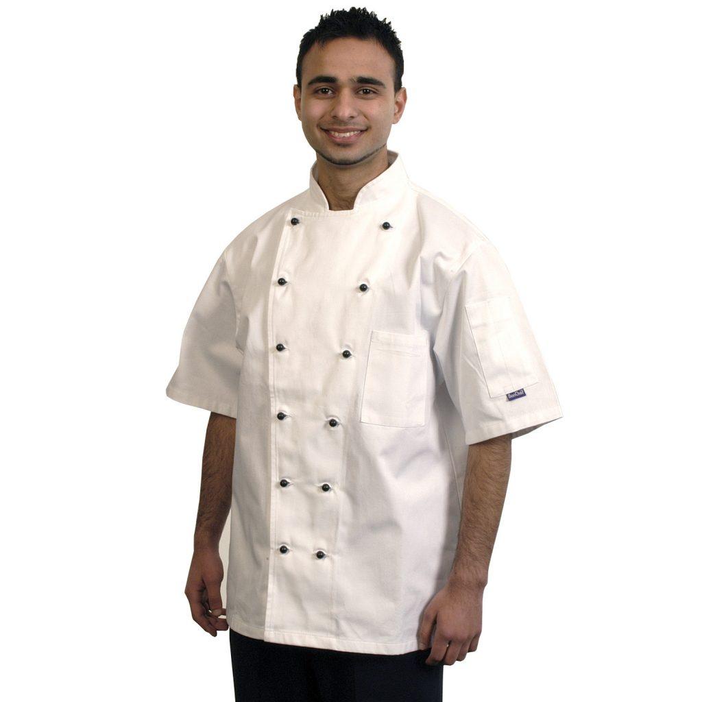 Chef-Jacket-White-Short-Sleeve