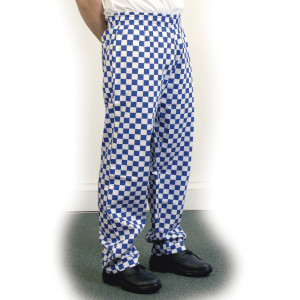 Chef trousers are an easy way to upgrade your existing chef uniform. We can supply classic Chef Trousers and elasticated Chef Baggies.