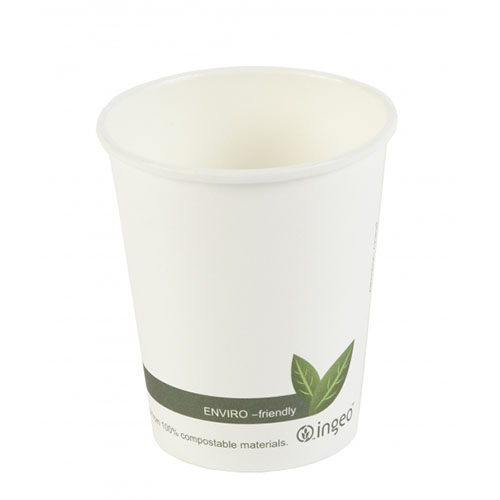 Compostable White Cups