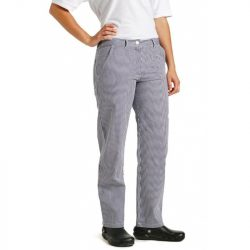 Ladies classic chef trousers