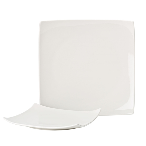 Pure White Square Plates