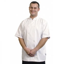 Ryan Jacket White Short Sleeve