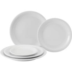 Titan Narrow Rimmed Plates
