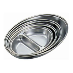 Stainless Steel Oval vegetable Dishes for Table Service